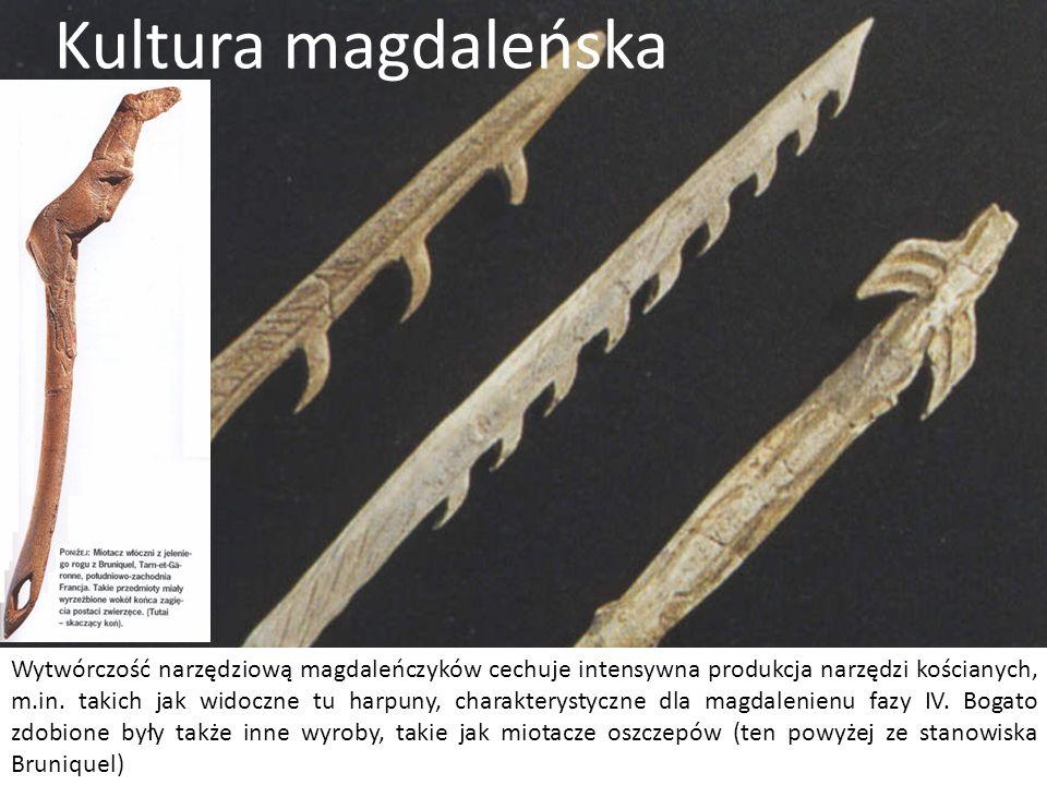 Gdy we wschodniej części Europy kultury póżno-graweckie osiągają apogeum, a potem schyłek swojego rozwoju, na zachodzie, od ok. 17 tys. BP rozwija się