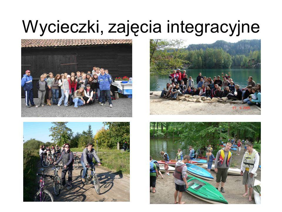 Wycieczki, zajęcia integracyjne
