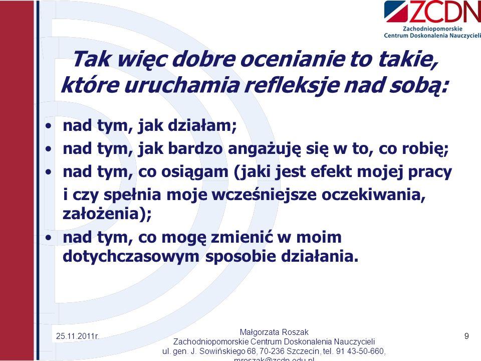 Schemat oceniania prac pisemnych z języka polskiego 1.