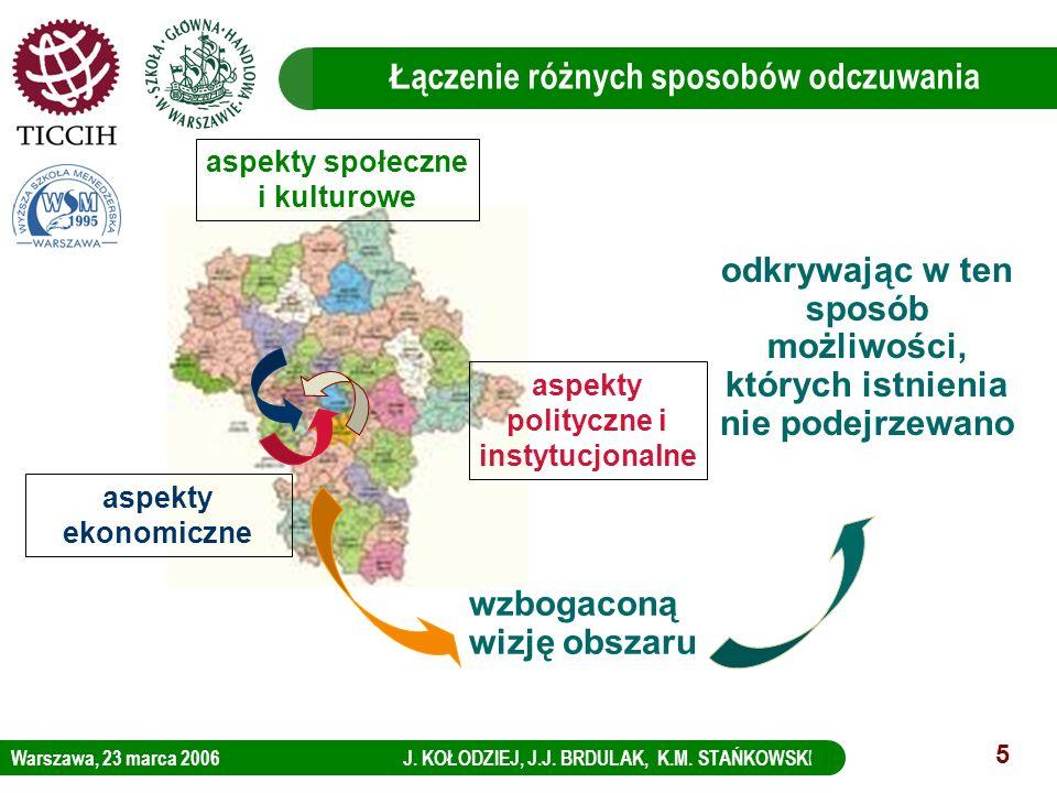 Warszawa, 23 marca 2006 J. KOŁODZIEJ, J.J. BRDULAK, K.M. STAŃKOWSKI LOGO KBC Group 5 Ł ączenie różnych sposobów odczuwania aspekty ekonomiczne aspekty