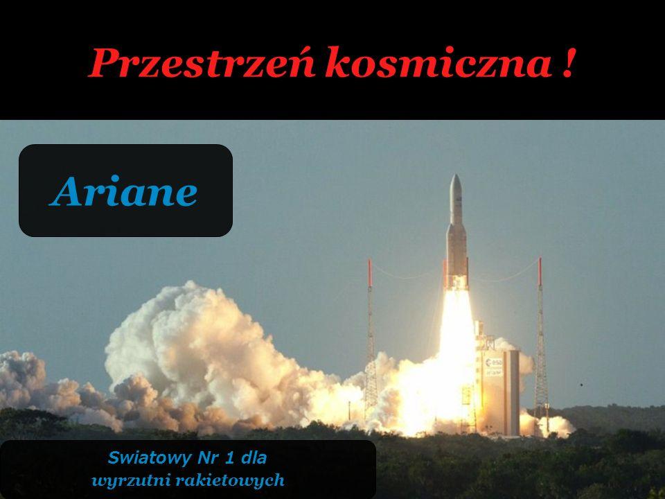 Przestrzeń kosmiczna ! Ariane Swiatowy Nr 1 dla wyrzutni rakietowych