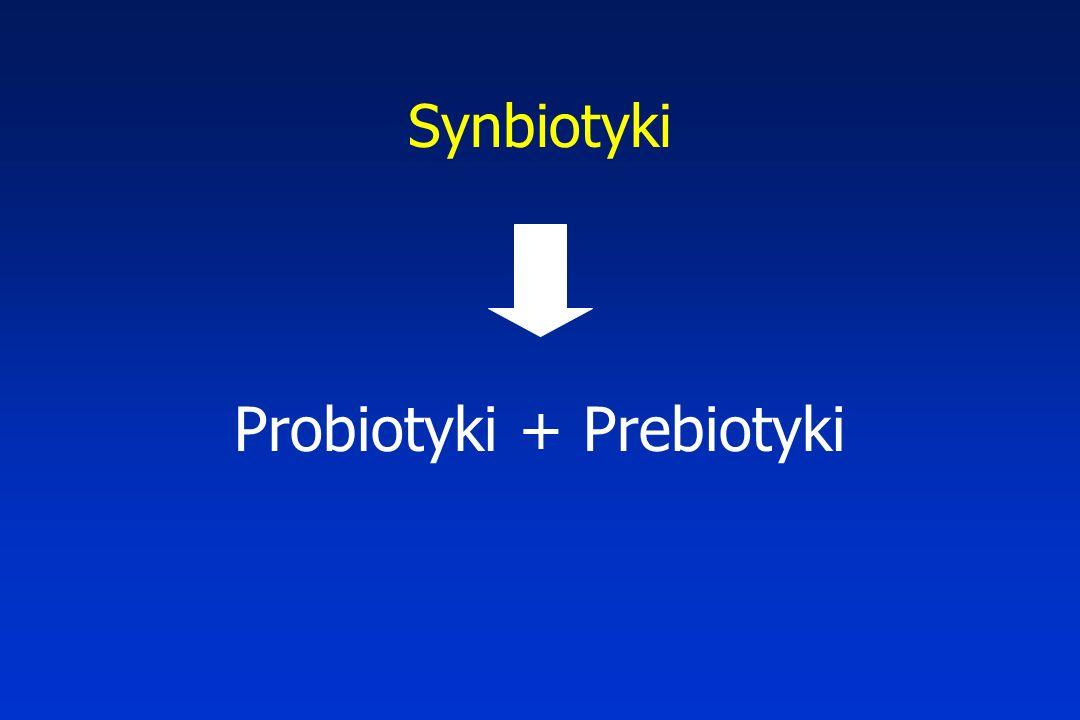 Synbiotyki Probiotyki + Prebiotyki