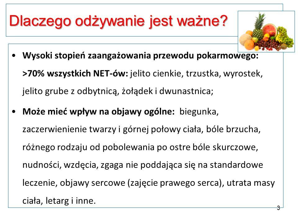 Objawy uboczne NET – ukł.