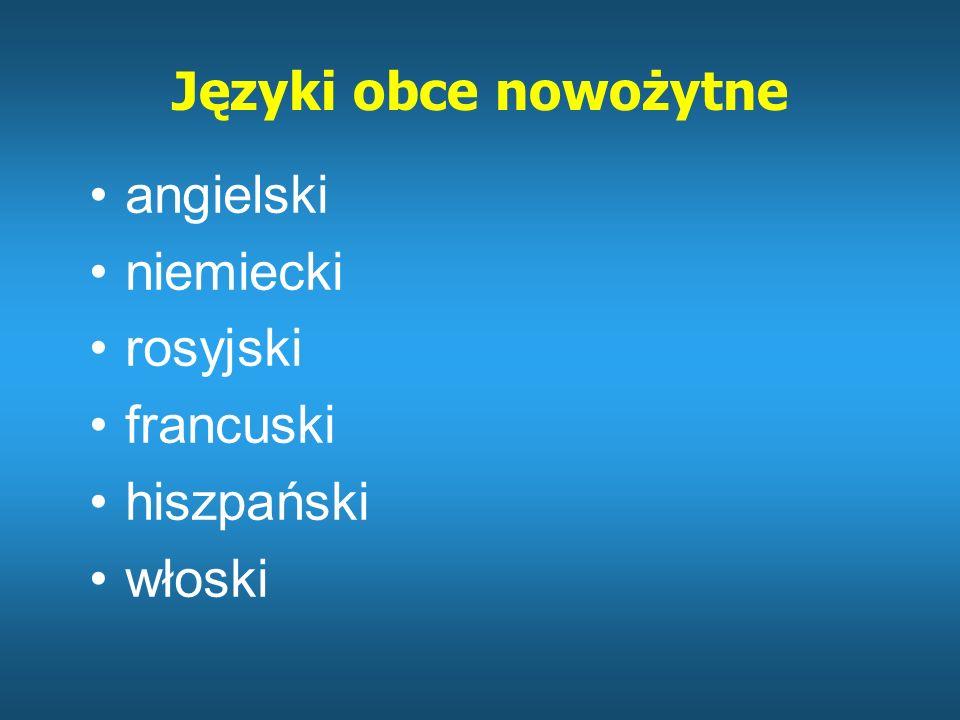 CZĘŚĆ PISEMNA – przedmioty obowiązkowe (poziom P) język polski język obcy nowożytny matematyka
