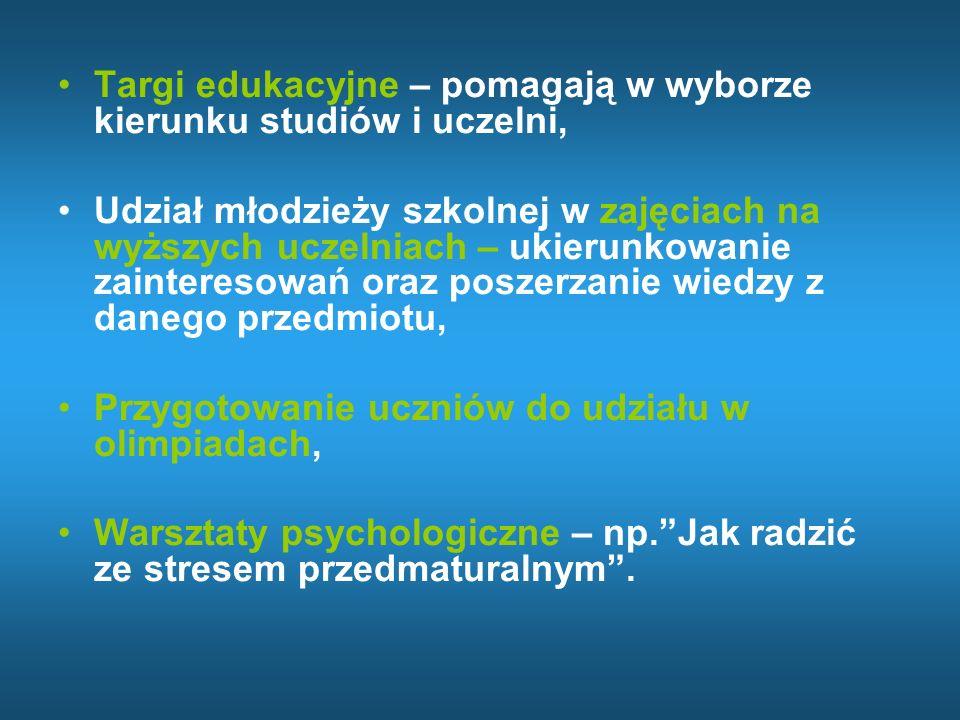 Więcej informacji można znaleźć na stronach internetowych: www.cke.edu.pl www.oke.lomza.com