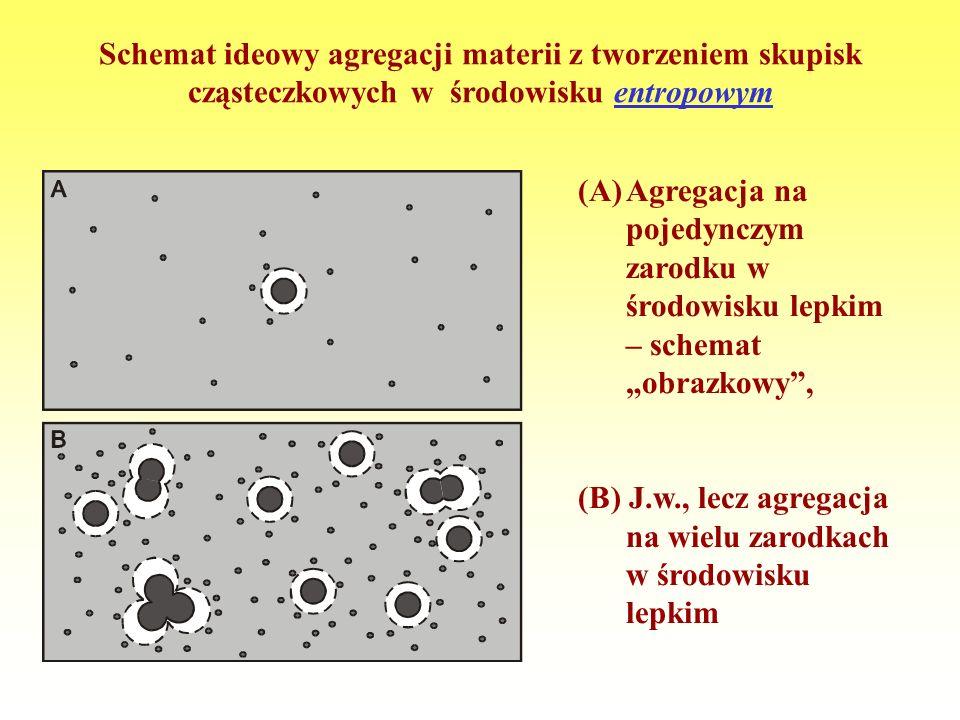 Różnica między agregacją mało- i wielkocząsteczkową [na podstawie: M. Muthukumar, Advances in Chemical Physics, vol. 128, 2004]