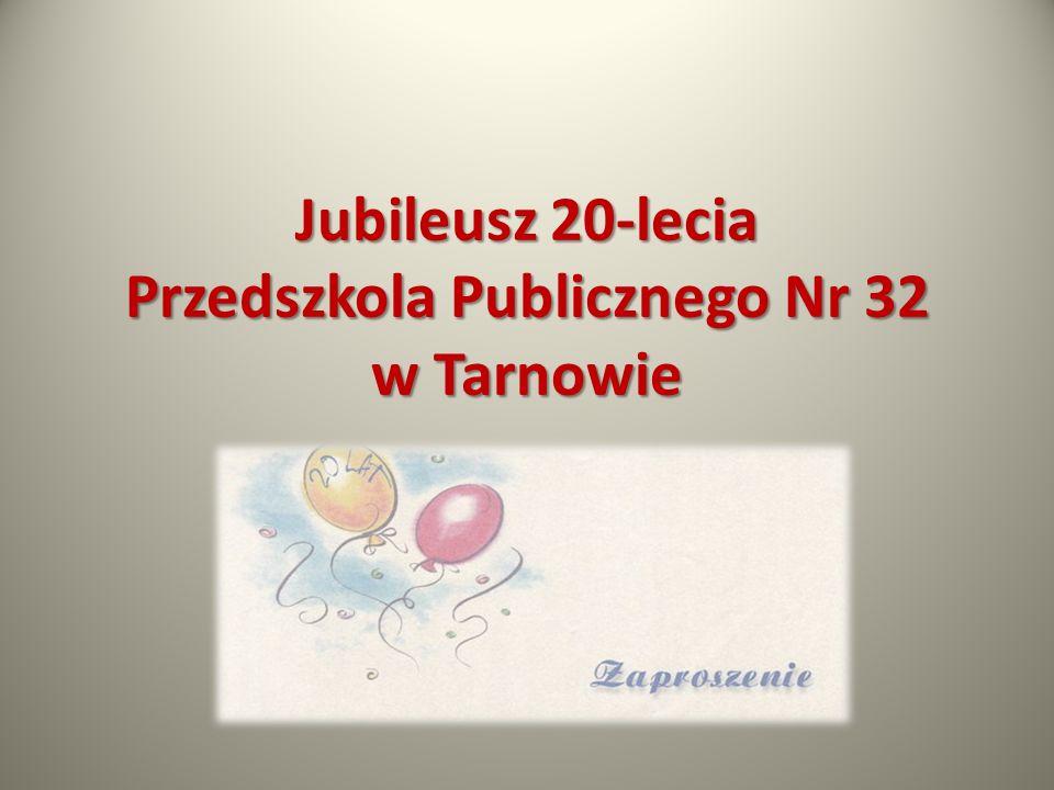 Jubileusz 20 – lecia Przedszkola rozpoczęła nasza absolwentka J.