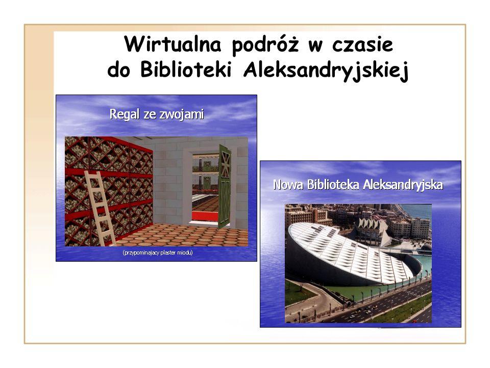 Wirtualna podróż w czasie do Biblioteki Aleksandryjskiej