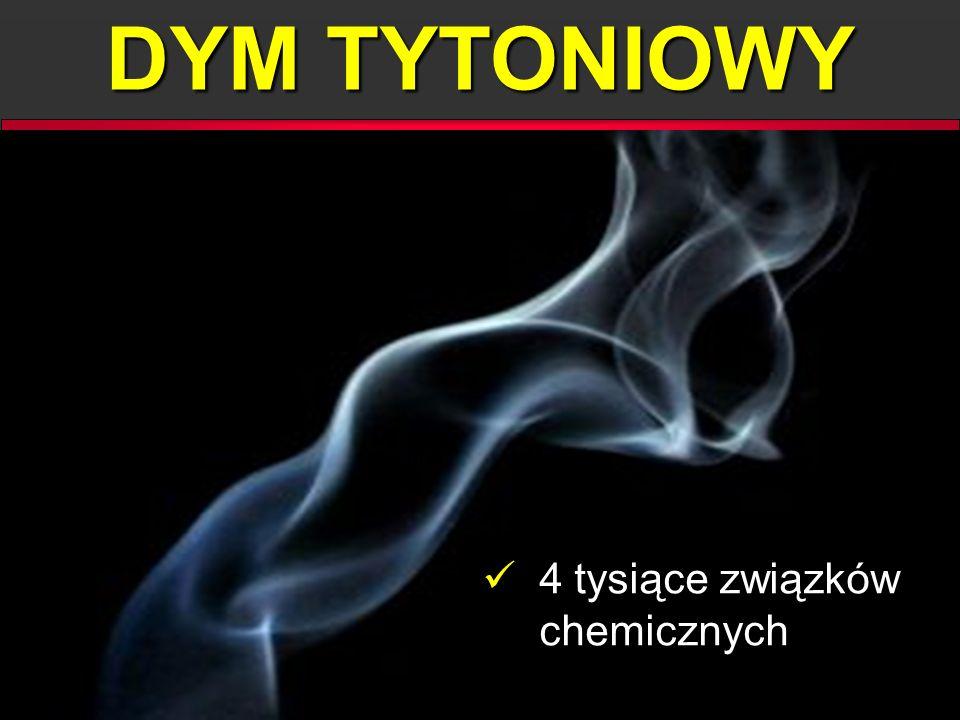DYM TYTONIOWY 4 tysiące związków chemicznych 4 tysiące związków chemicznych