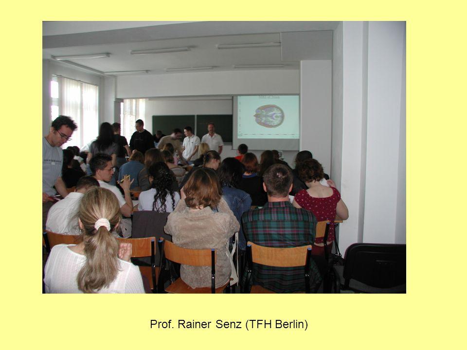 Prof. Rainer Senz (TFH Berlin)