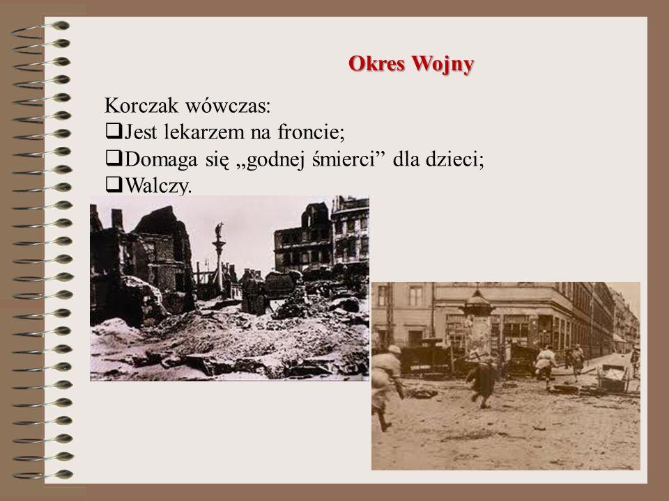 Przed wybuchem I wojny światowej, Janusz Korczak pisał różne artykuły do gazet. Często poświęcone były one problemom dzieci. Sprawdził się więc równie