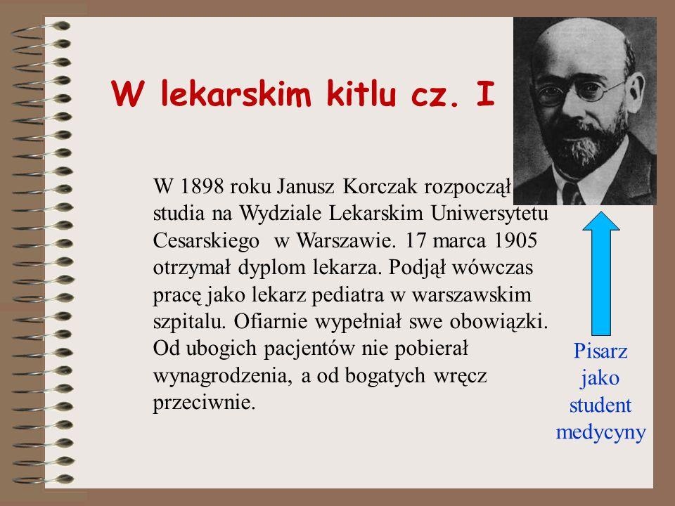 Rodzina J. Korczaka Rodzice Korczaka nie tworzyli udanego małżeństwa. Młody Henryk wychowywał się w dobrobycie i luksusie. Nie czuł się jednak kochany