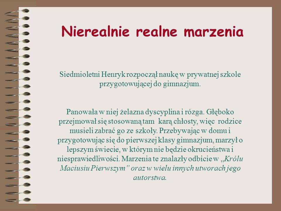 W lekarskim kitlu cz. II Praca w szpitalu nauczyła Korczaka wrażliwości społecznej, znany był z tego, że często rozdawał ubogim pacjentom leki, a nawe