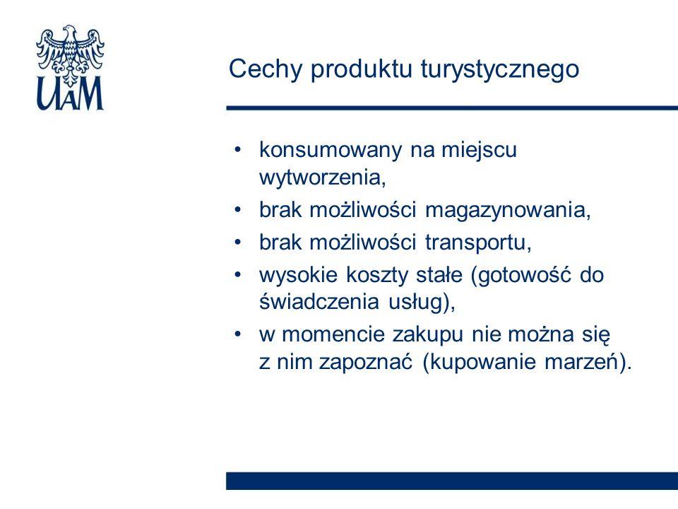 konsumowany na miejscu wytworzenia, brak możliwości magazynowania, brak możliwości transportu, wysokie koszty stałe (gotowość do świadczenia usług), w