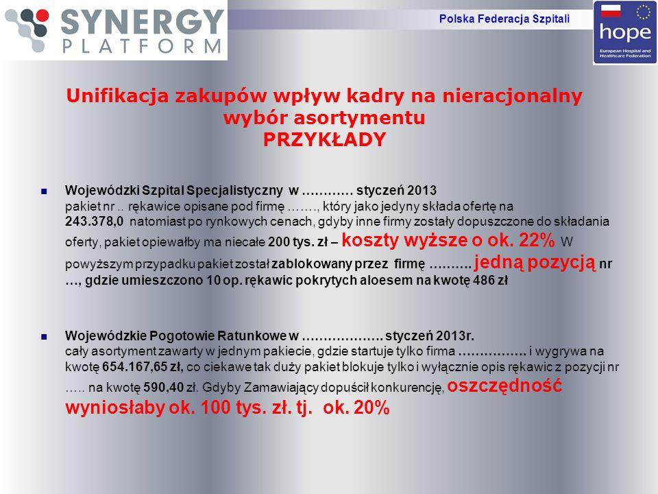 Wojewódzki Szpital Specjalistyczny w ………… styczeń 2013 pakiet nr.. rękawice opisane pod firmę ……., który jako jedyny składa ofertę na 243.378,0 natomi