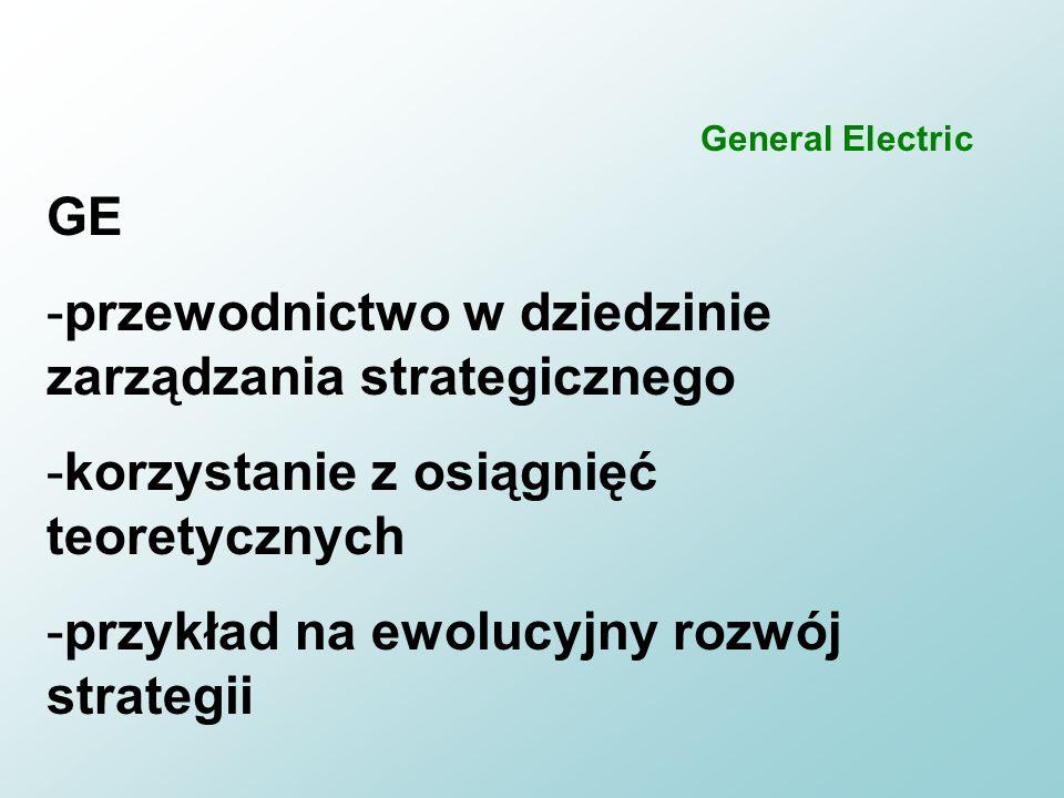 130 Podsumowanie n General Electric