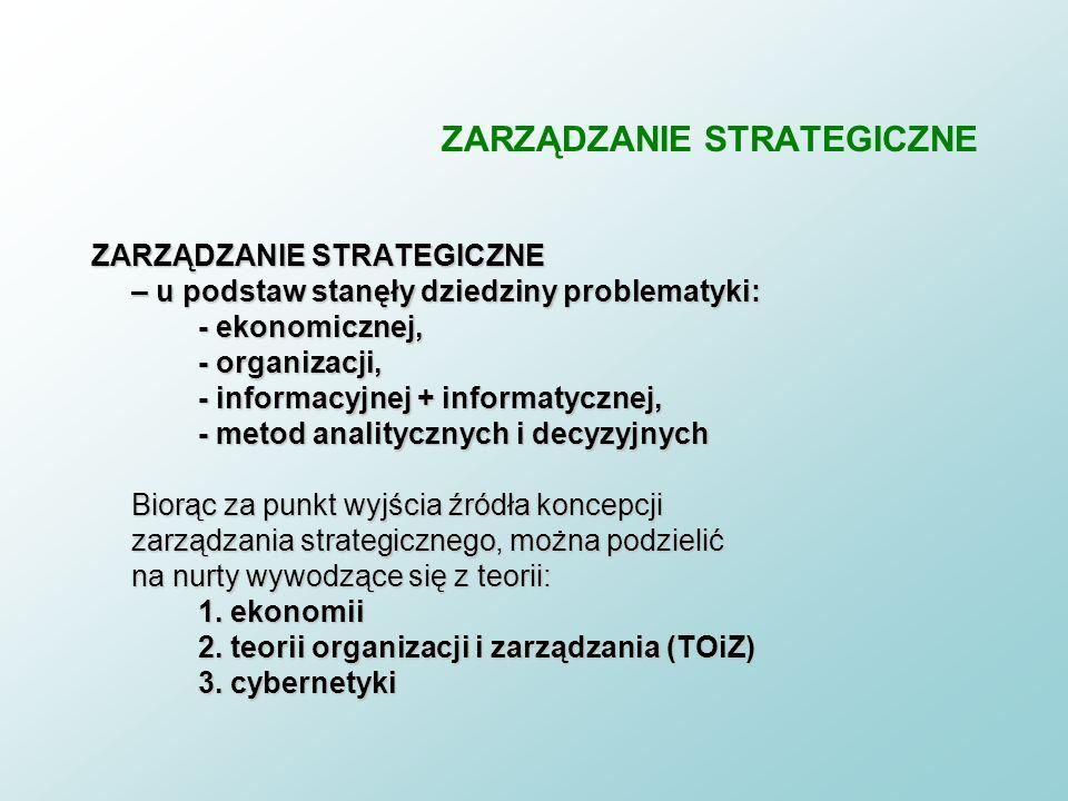 7 Cel zajęć n Preferowana szkoła strategii