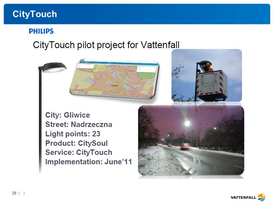 29 | | CityTouch