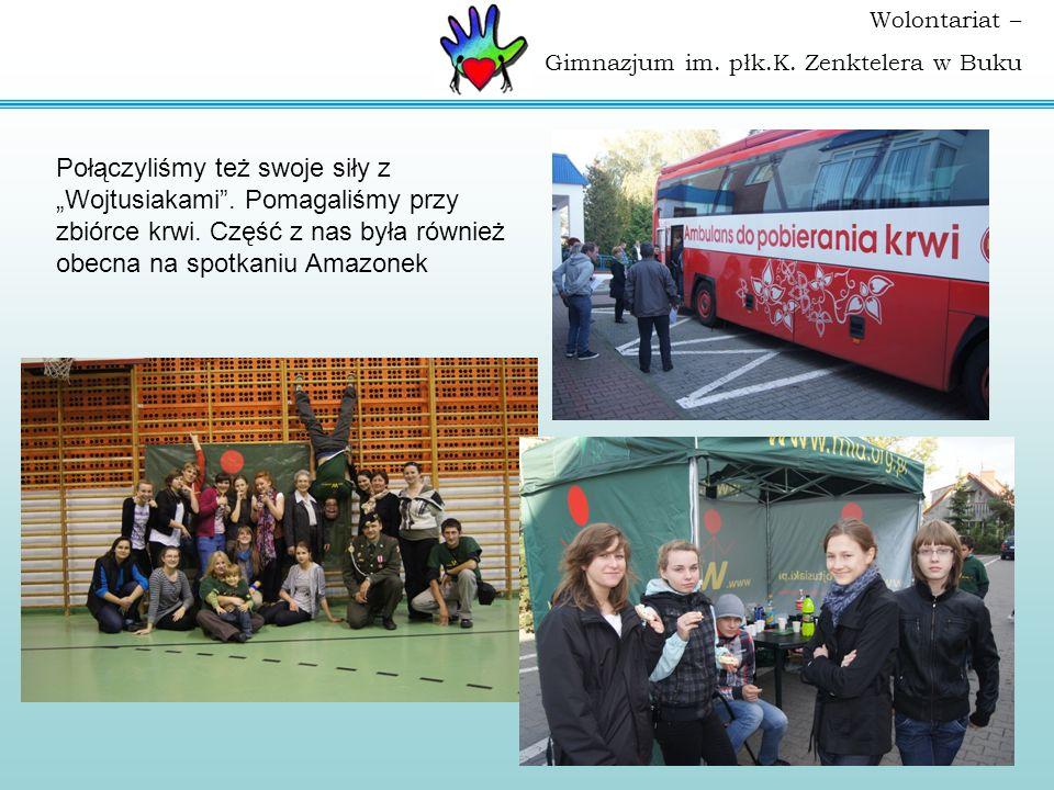 Wolontariat – Gimnazjum im. płk.K. Zenktelera w Buku