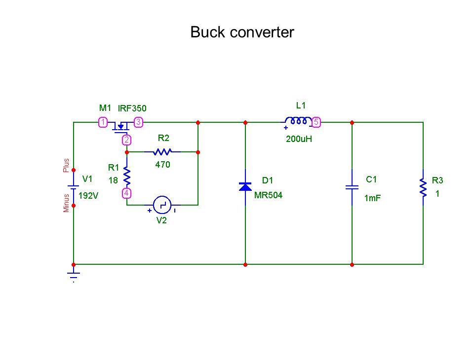 Buck converter