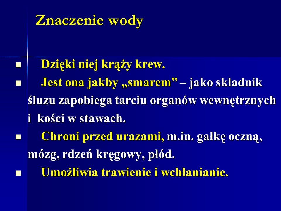 Deficyt wody Polska jest krajem, który należy do Polska jest krajem, który należy do najuboższych w zasoby wody w Europie.