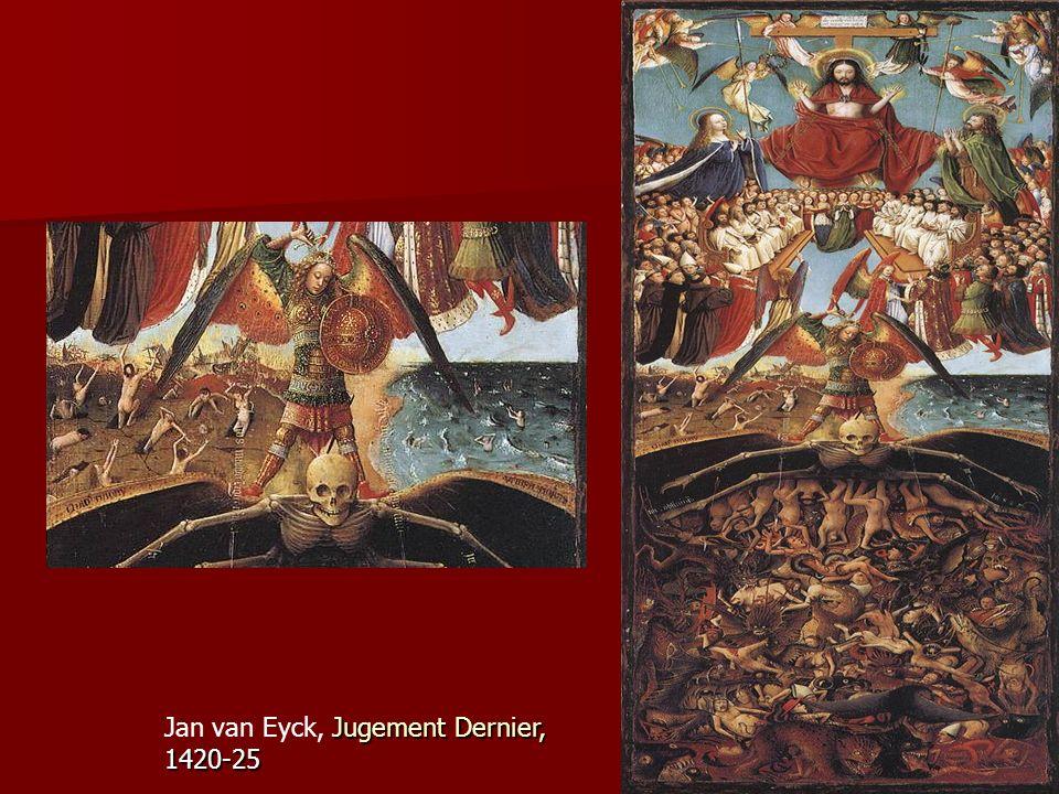 Jugement Dernier, 1420-25 Jan van Eyck, Jugement Dernier, 1420-25