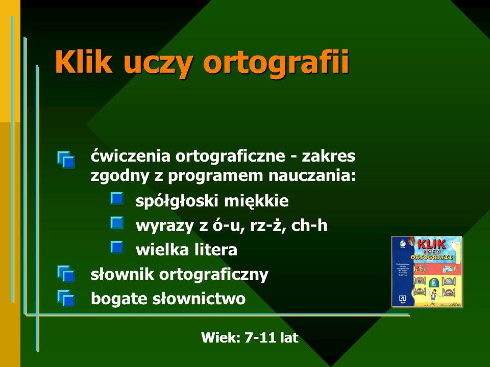 Klik uczy ortografii