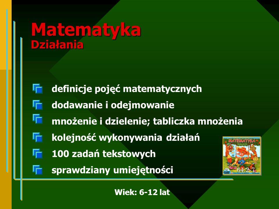 Matematyka Działania
