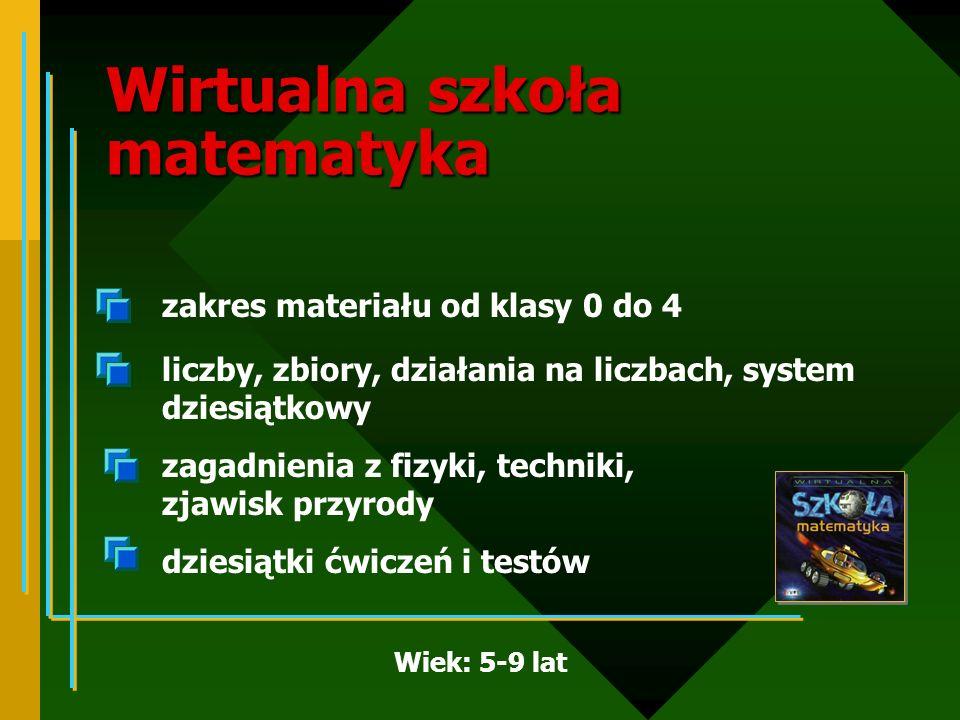 Wirtualna szkoła matematyka