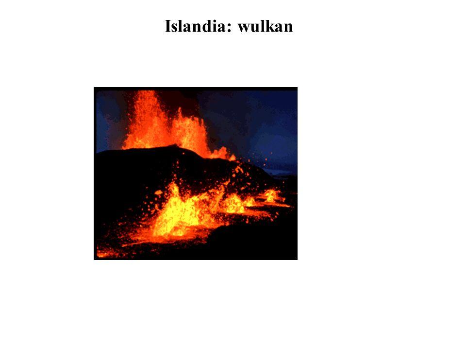 Islandia: wulkan