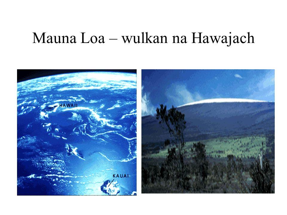 Mauna Loa – wulkan na Hawajach