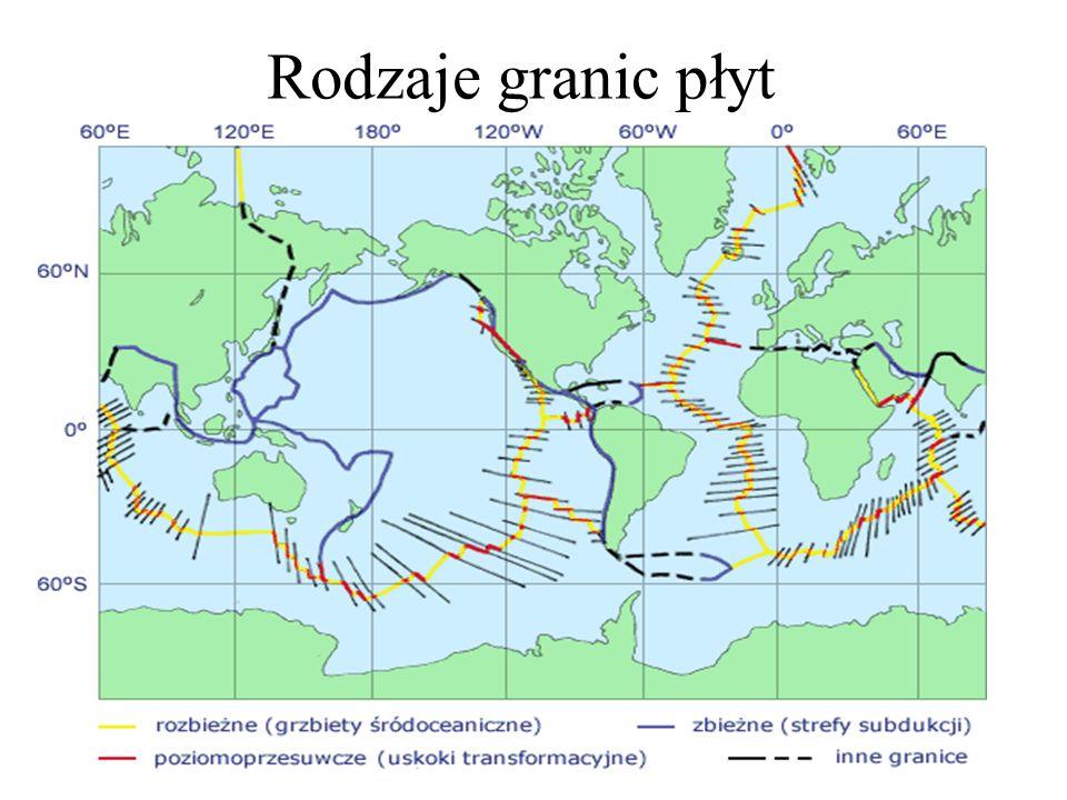 Strefy trzęsień ziemi