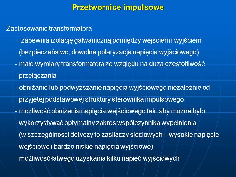 = Przetwornica jednotaktowa – jednotranzystorowa (ang.