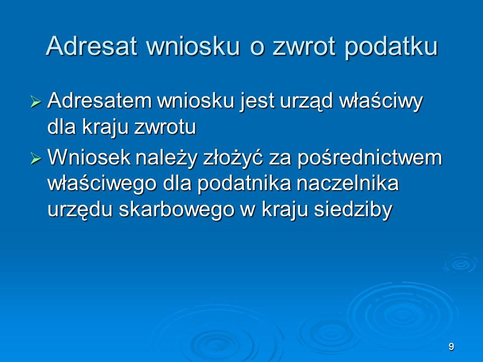 40 Dyrektywa Rady 2008/9/WE Art.20 Art. 20 1.