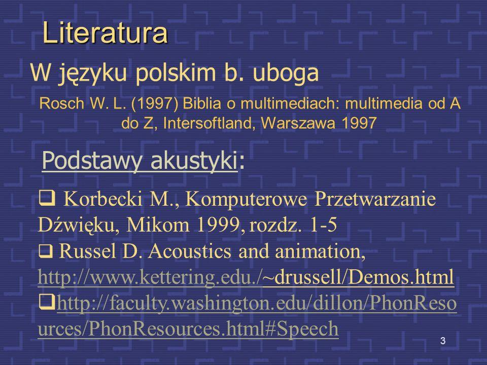 3 Literatura W języku polskim b.