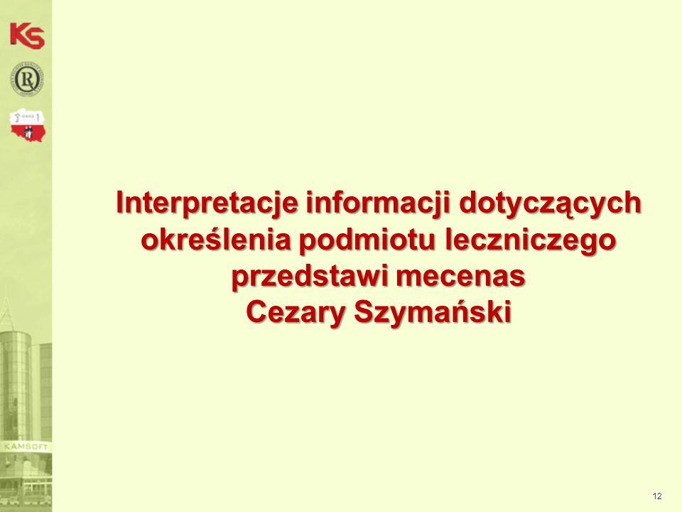 13 Ustawa z dnia 15 kwietnia 2011 r. o działalności leczniczej (Dz. U. z dnia 1 czerwca 2011 r.)