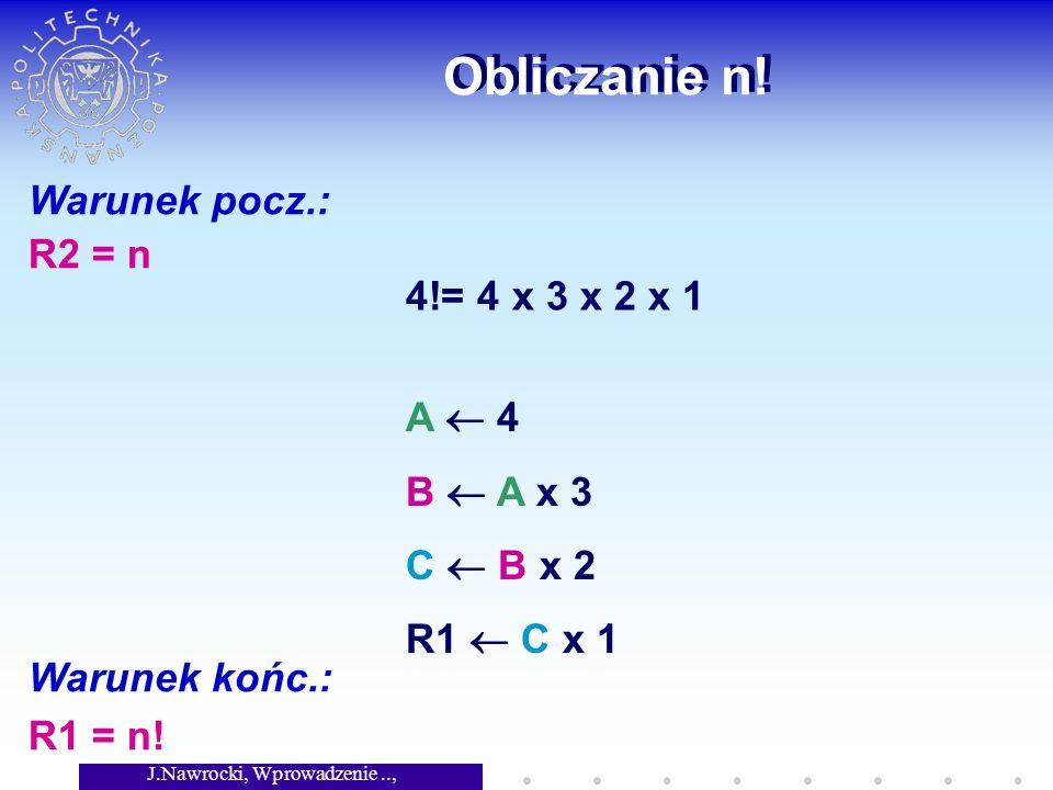 J.Nawrocki, Wprowadzenie.., Wykład 2 Problem stopu Pewien Grek powiedział, że każdy Grek jest kłamcą.