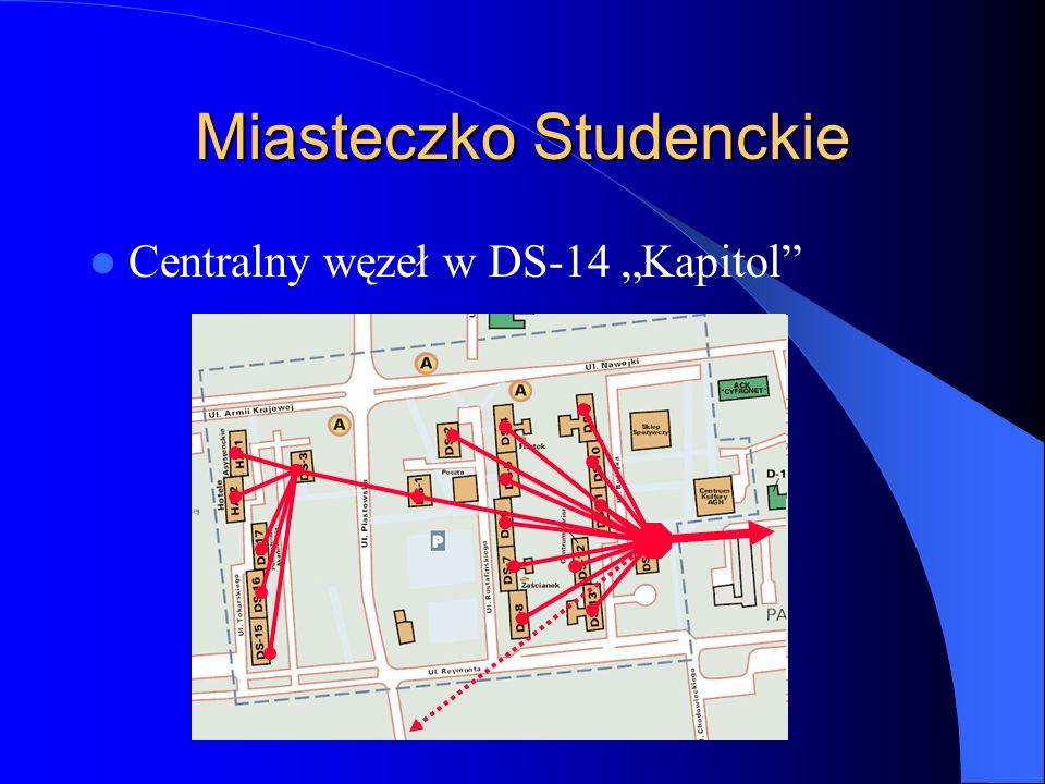 Miasteczko Studenckie Centralny węzeł w DS-14 Kapitol
