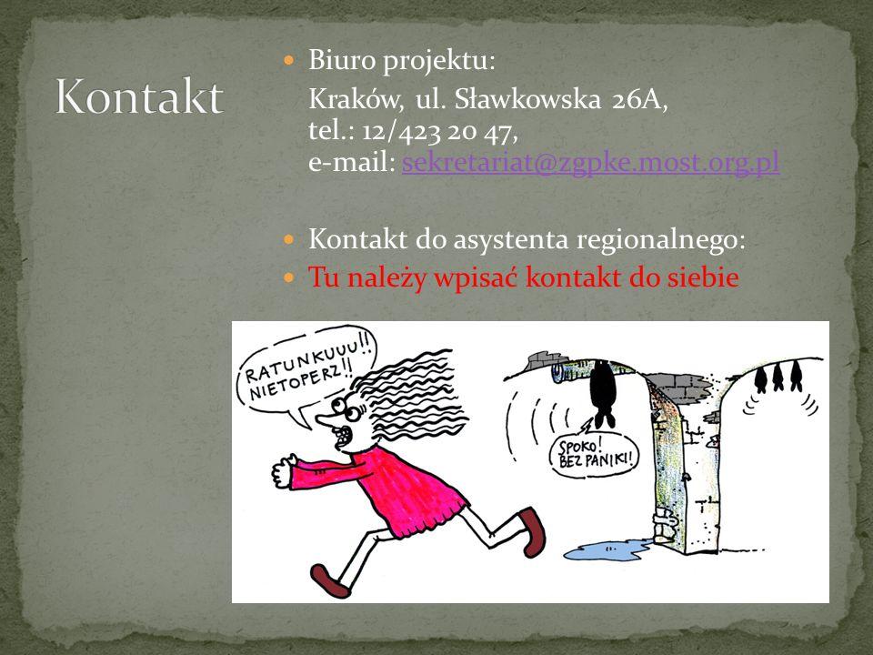 Biuro projektu: Kraków, ul.
