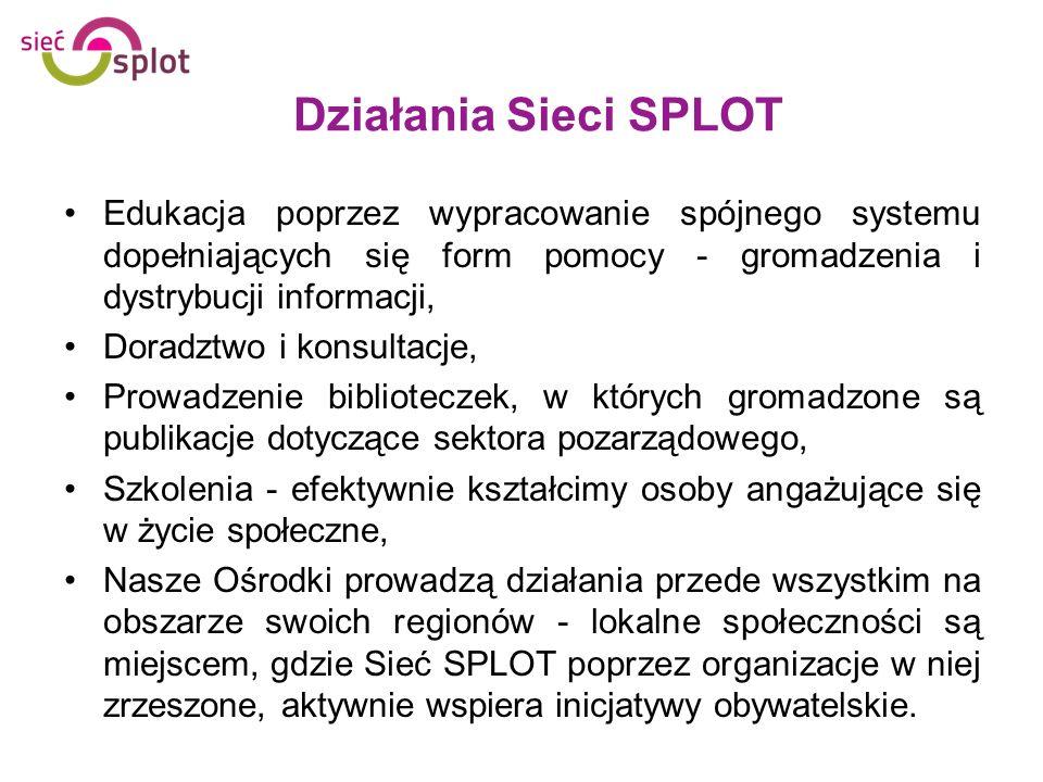 Standaryzacja ośrodków Sieci SPLOT Profesjonalizm, kompetencje, wysoka jakość