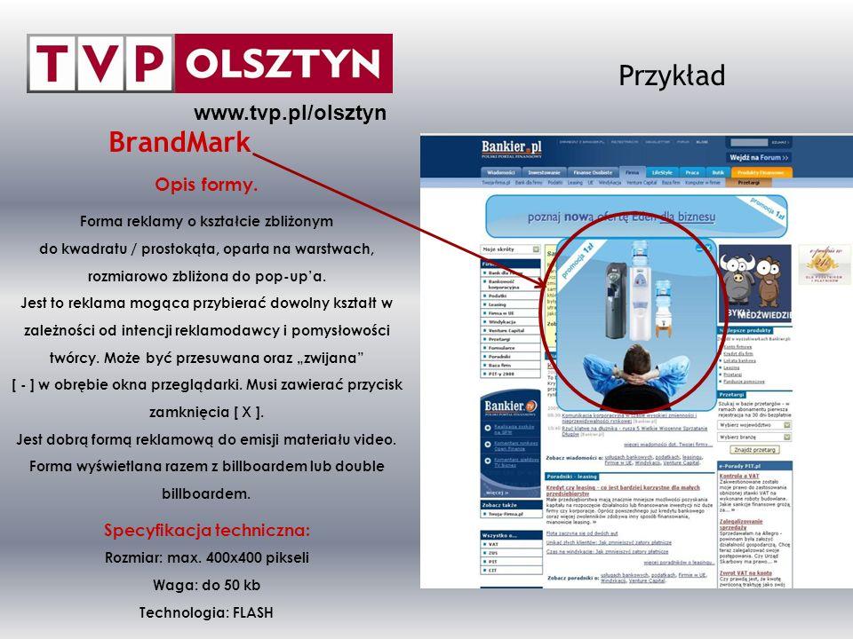 www.tvp.pl/olsztyn ZAPRASZAMY DO WSPÓŁPRACY Sekcja Promocji, Marketingu i Reklamy TVP OLSZTYN Al.
