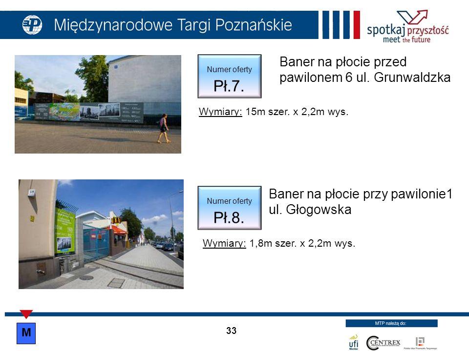 34 KONTAKT: Międzynarodowe Targi Poznańskie Targowe Usługi Promocyjne Recepcja tel.