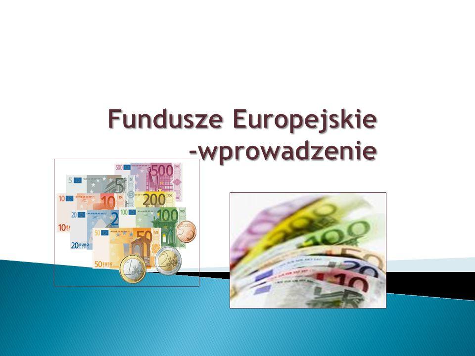 Fundusze UE http://www.mapadotacji.gov.pl/