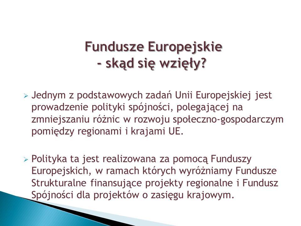 Fundusze europejskie to zasoby finansowe Unii Europejskiej, dzięki którym kraje członkowskie UE mają możliwość restrukturyzowania i modernizowania swoich gospodarek.