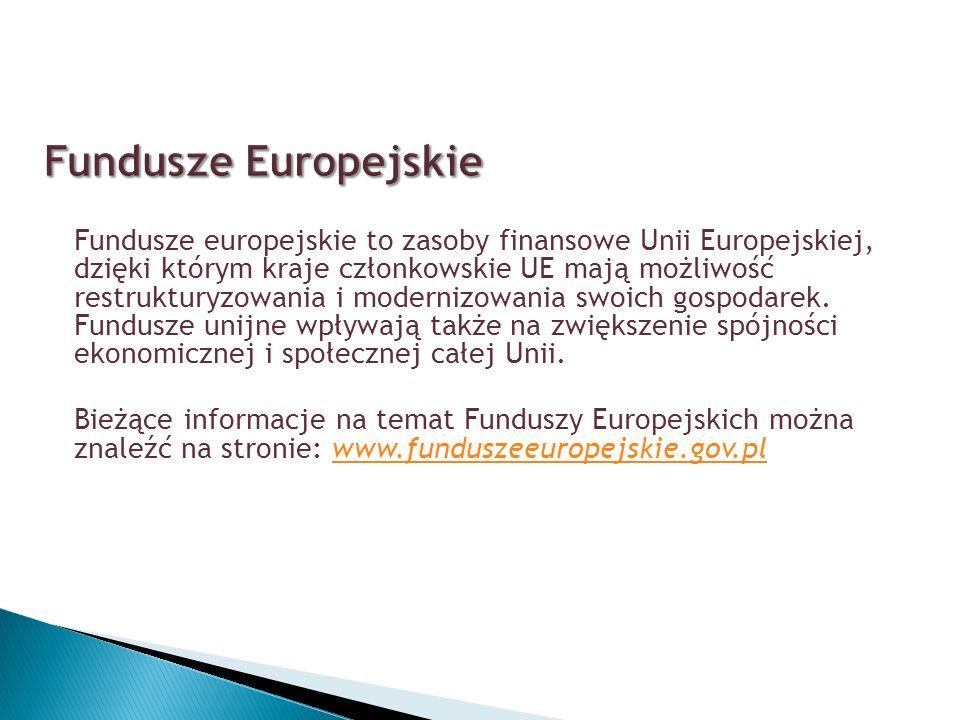 Jest instrumentem polityki spójności UE, niewchodzącym w skład Funduszy Strukturalnych, to tzw.