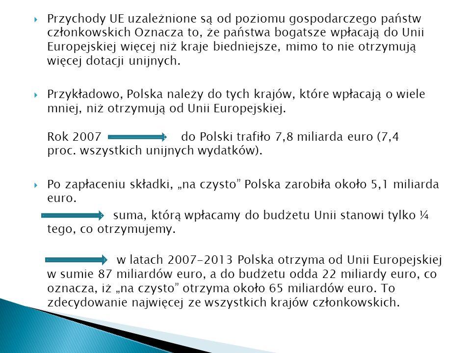 Łączna suma na realizację założeń NSS w latach 2007- 2013 wyniesie 85, 6 mld euro, z czego: 67,3 mld euro będzie pochodziło z budżetu unijnego; 11,9 mld ze środków publicznych ( w tym 5,9 mld z budżetu państwa); Około 6,4 mld euro zostanie uzyskanych ze środków prywatnych.