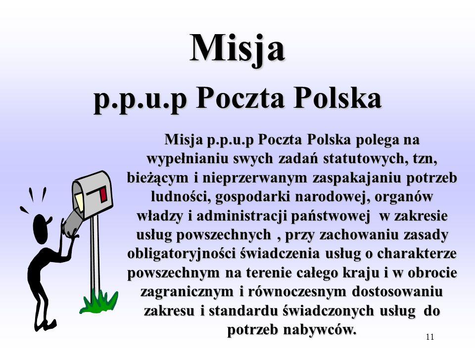 10 MISJE Telekomunikacji Polskiej S.A. Stoczni Szczecińskiej S.A. lub innych znanych firm. Poczty Polskiej