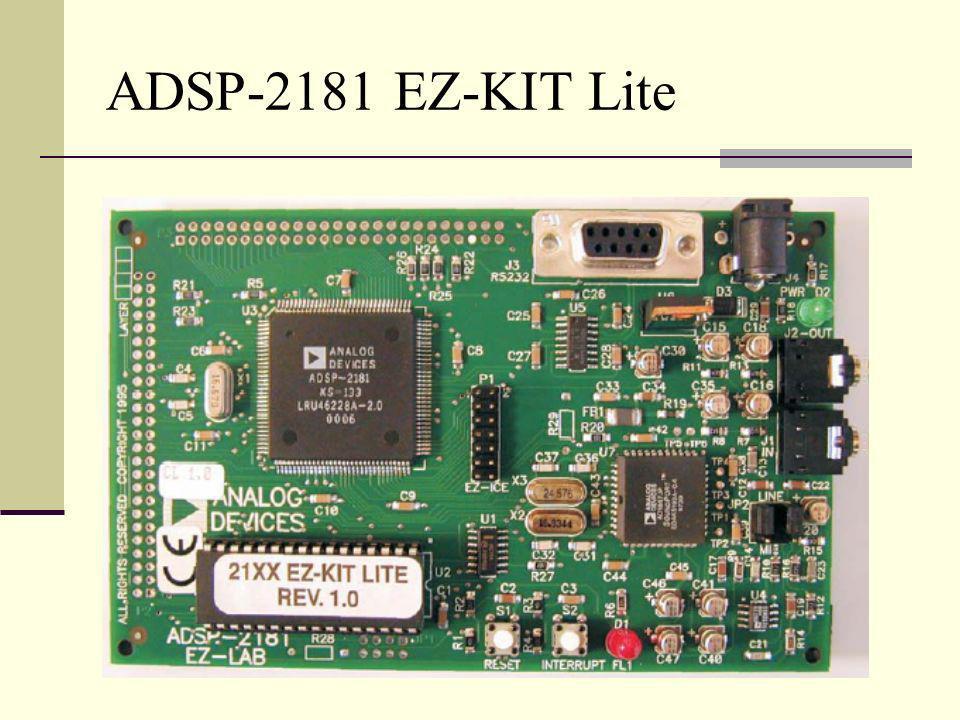 ADSP-2181 EZ-KIT Lite