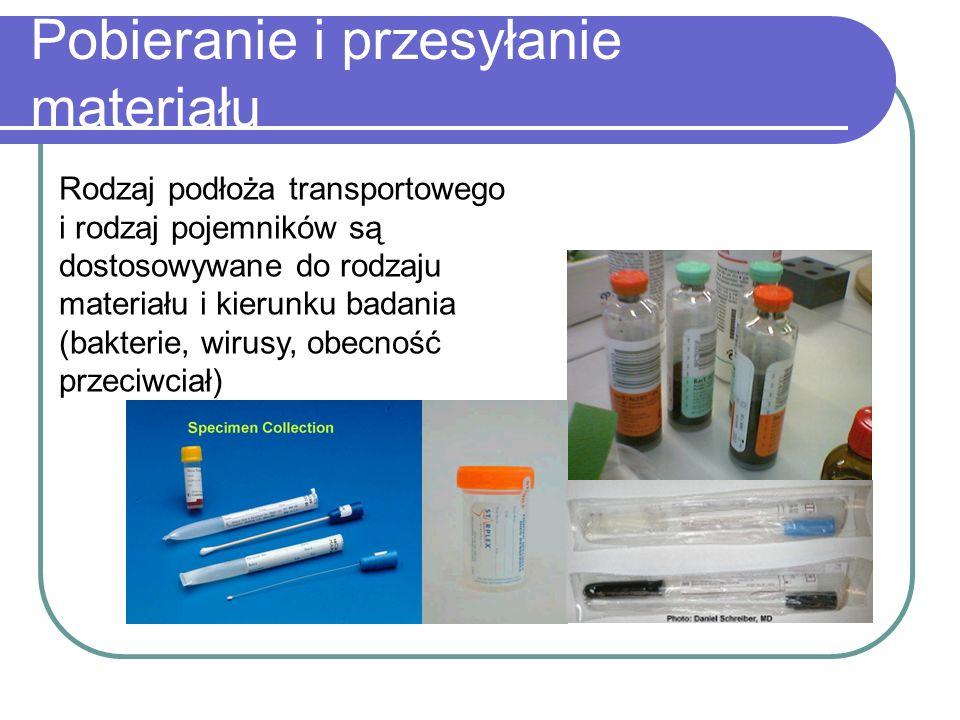 Badanie mikroskopowe Mikroskop świetlny Preparaty barwione metoda Grama metody specjalne np.