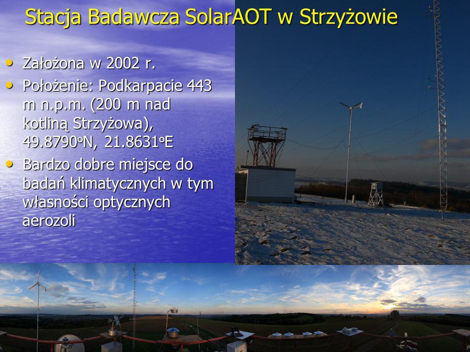 Założona w 2002 r. Założona w 2002 r. Położenie: Podkarpacie 443 m n.p.m. (200 m nad kotliną Strzyżowa), 49.8790 o N, 21.8631 o E Położenie: Podkarpac